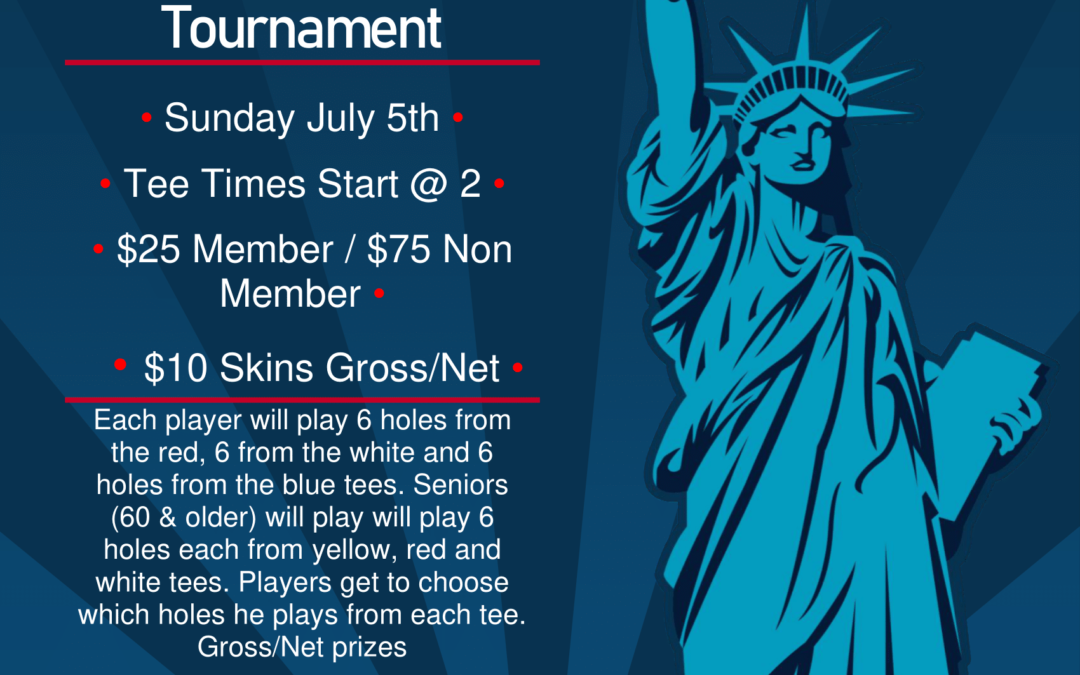 Register now! Red, White and Blue Tournament