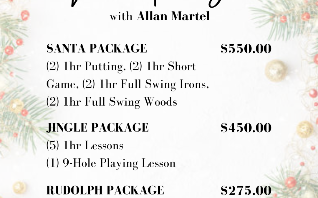 Holiday Lesson Packages
